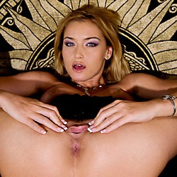 Private video: Blue Angel, Kathy Campbel and Zafira at it on the couch!