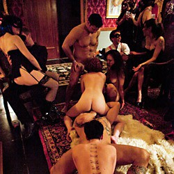 Private video: Outrageous swingers party!