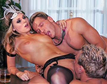 Private  porn video: Victoria Swinger Spends the Night Getting a DP in a MMF Threesome