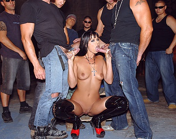 Private HD porn video: Outdoor Gangbang for Simony Diamond