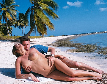 Private  porn video: On a Picture Perfect Day Natalka Enjoys Sex on the Beach